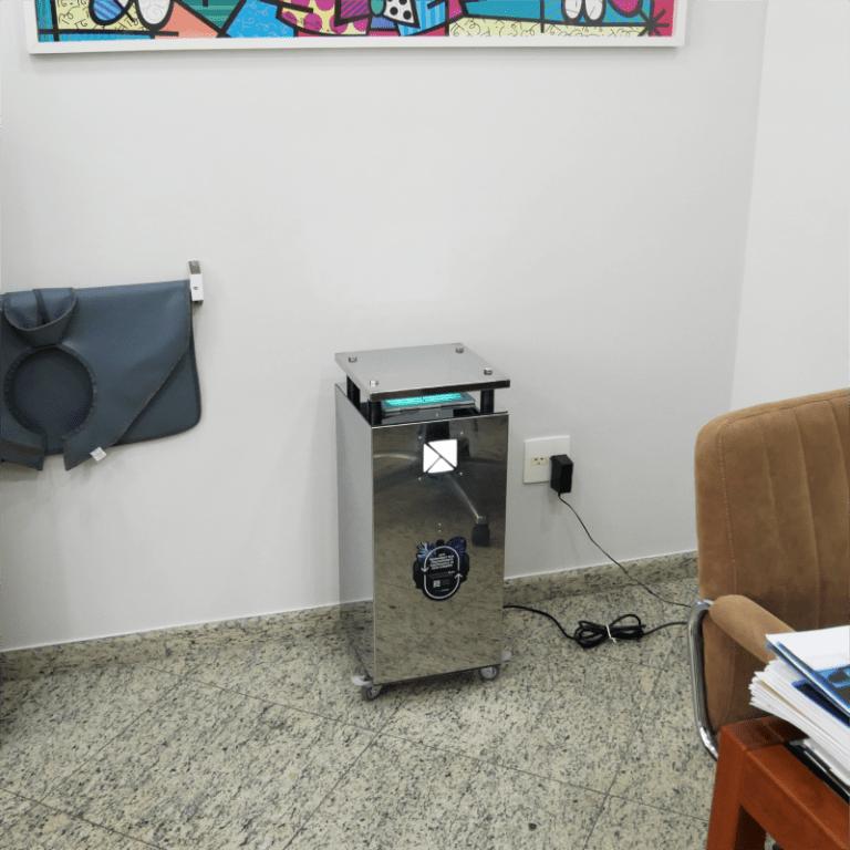 UV Air instalado em consultório odontológico